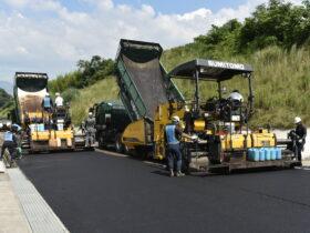 西讃南部地区山本工区第五農道舗装工事